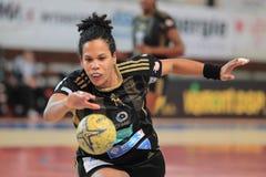 Amelie Goudjoa - handball Photos libres de droits