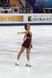 Amelie Lacoste, kanadische Abbildung Schlittschuhläufer Lizenzfreies Stockbild