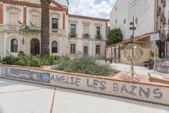 Amelie Les Bains, Occitanie, France Images stock