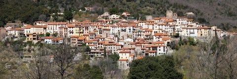Amelie-les-Bains-Palalda Photographie stock libre de droits