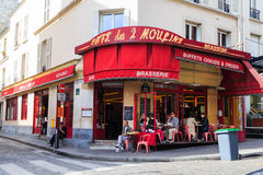 Amelie movie location Royalty Free Stock Images
