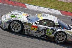 amemiya 2009 GT Japon m7 emballant au sujet de l'équipe superbe Photographie stock