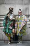 AMEN a forma interior é composta de sul - forma africana e designer de interiores Brad Muttitt e Abiah 'estrela mundial 'Mahlase  fotos de stock