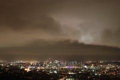 Amenaza de la tormenta de Brisbane Foto de archivo libre de regalías