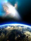 Amenaza del cielo Fotografía de archivo libre de regalías