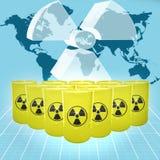 Amenaza nuclear Fotos de archivo libres de regalías