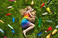 Amenaza para nuestros sueños coloridos Foto de archivo