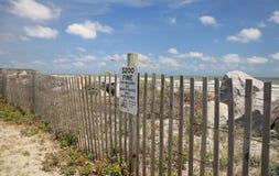 Amende de plage Image stock