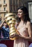 Amende 2013 de senza de trofeo d'italia de chèques postaux Photo stock