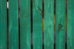 Amende en bois verte de panneau de vintage disposée comme mur pour le desi intérieur Image stock