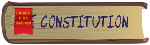 Amendement van de Grondwet van de V.S. Royalty-vrije Stock Foto