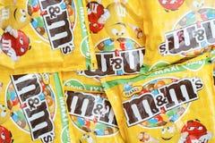 Amendoim m&m Imagem de Stock