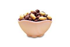 Amendoim na bacia Imagens de Stock Royalty Free