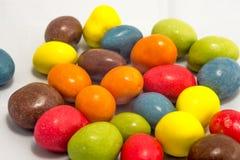 Amendoins coloridos Foto de Stock Royalty Free