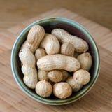 Amendoins crus Fotos de Stock