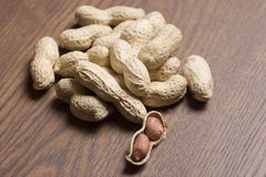 Amendoins, fundo dos amendoins Semente dos amendoins Textura dos amendoins da vinheta Amendoim de Brown Material do amendoim, fun imagens de stock royalty free