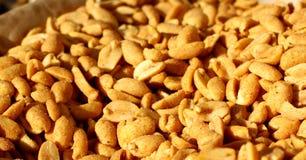 Amendoins para fundos Imagens de Stock Royalty Free