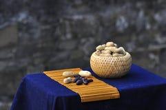 Amendoins pretos Foto de Stock Royalty Free