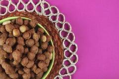 Amendoins quentes e picantes Fotografia de Stock Royalty Free