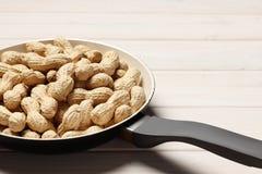 Amendoins saborosos fritados imagens de stock royalty free