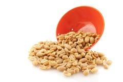Amendoins salgados Foto de Stock