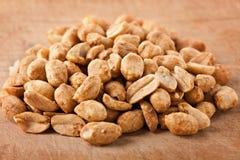 Amendoins salgados e roasted foto de stock