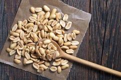 Amendoins salgados Roasted Foto de Stock Royalty Free