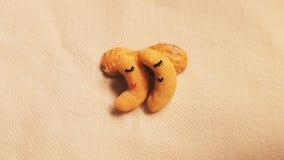 Amendoins sonolentos Foto de Stock