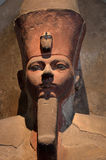 Amenhotep I. British Museum, London UK. Granite Statue of the King Amenhotep I. About 1510 BC, Thebes Deir el-Bahari. 18th Dynasty. Amenhotep shown as Osiris Stock Image