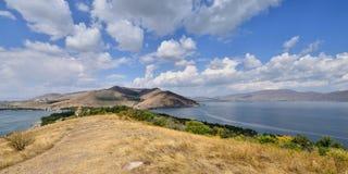 Amenia, lago Sevan fotografie stock