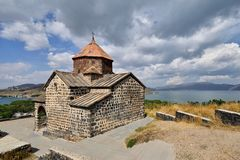 Amenia, lago Sevan immagini stock