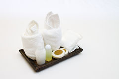 Amenities kit Royalty Free Stock Photo