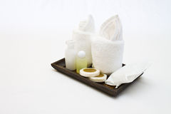 Amenities kit Stock Images