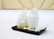 Amenities kit Royalty Free Stock Photography