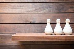Amenities On Wooden Board Stock Image