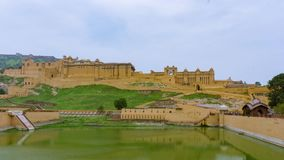 Amer ηλέκτρινο οχυρό Timelapse, Jaipur Ινδία φιλμ μικρού μήκους