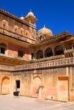 Amer οχυρό, δημοτική εταιρία του Jaipur στοκ φωτογραφίες