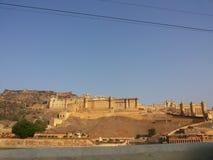 Amer οχυρό, Amer, Jaipur Στοκ φωτογραφία με δικαίωμα ελεύθερης χρήσης