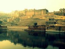 Amer οχυρό - Jaipur Στοκ Εικόνες