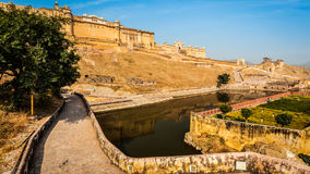 Amer aka Amber fort, Rajasthan, India Royalty Free Stock Images