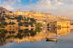 Amer Amber fort. Jaipur, Rajasthan, India