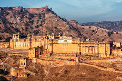 Amer Amber fort, Rajasthan, India Stock Photography
