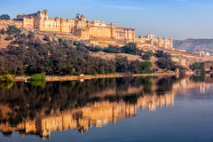 Amer Amber fort, Rajasthan, India Royalty Free Stock Image