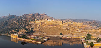 Amer (Amber) fort, Rajasthan, India Stock Images