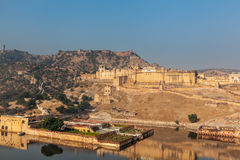 Amer (Amber) fort, Rajasthan, India Stock Photos