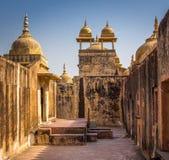 Amer Fort à Jaipur Image libre de droits