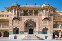 Amer Fort à Jaipur, Ràjasthàn, Inde Images libres de droits