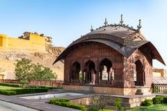 Amer Fort à Jaipur, Ràjasthàn, Inde Photographie stock