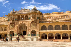 Amer Fort Photographie stock