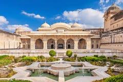 Amer fort blisko Jaipur Obraz Royalty Free